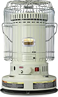 Dyna-Glo WK24WH 23,800 BTU Indoor Kerosene Convection Heater, Ivory