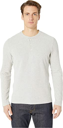 Brushed Rib Henley