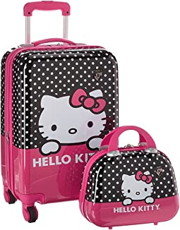 "Hello Kitty 21"" Spinner & Beauty Case"