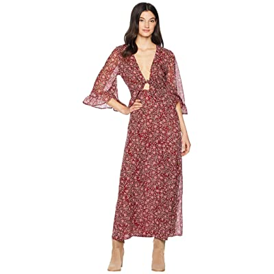 Amuse Society Besos Besos Baby Dress (Crimson) Women