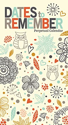 Dates To Remember Perpetual Calendar ('19 edition)