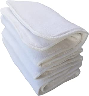 Happy Endings Teen/Adult Inserts for Cloth Diapers Incontinence ((3 Pack) 4 Layer Microfiber Inserts))