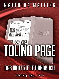 Tolino Page - das inoffizielle Handbuch. Anleitung, Tipps, Tricks (German Edition)