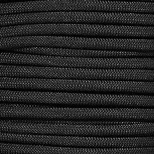 """PARACORD PLANET Black Diamond Weave Shock Cord - Verkrijgbaar in 1/8, 3/16, 1/4, 3/8, 1/2 en 3/4 """"Diameters - verschillend..."""