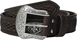 Embossed Diamond Concho Belt