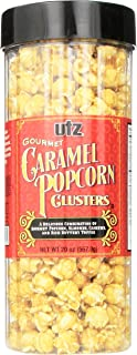 Utz Gourmet Popcorn Clusters, Caramel Nut Clusters – 19 oz. Barrel – Crunchy Popcorn Snack Mix with Almonds, Cashews, and ...