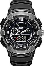 Skechers - Reloj analógico digital de cuarzo ligero para hombre