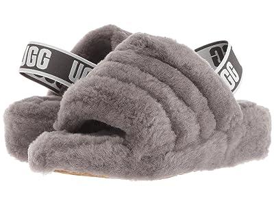 UGG Fluff Yeah Slide (Charcoal) Women
