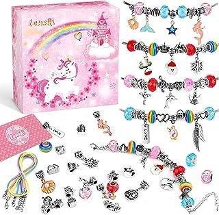Lenski Idee Cadeau Ado Fille, Cadeau Fille 4-12 Ans, Jouet Fille Bracelet Fille Bijoux Enfants Fille Cadeau Rigolo Breloqu...