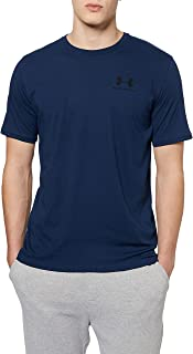 Under Armour Mens Sportstyle Left Chest Short-Sleeve T-Shirt