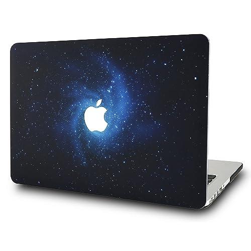 KECC Funda Dura MacBook Air 13 Pulgadas A1369 / A1466 Ultra Delgado Plástico (Azul)