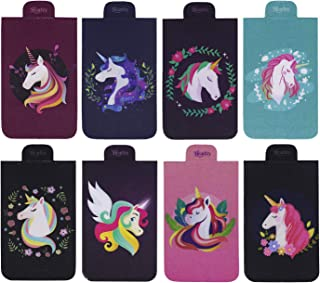 Heartzy Set of 8 Unicorn Magnetic Bookmark Combo | Gift for Booklovers