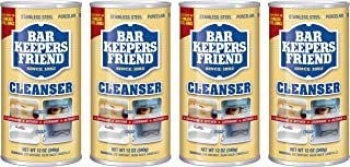 Bar Keepers Friend Powdered Cleanser 12-Ounces (4-Pack)