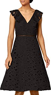 TRUTH & FABLE Women's Laser Cut Prom Party Dress