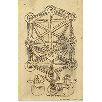 Amazon Com The Masonic Exchange Kabbalah Tree Of Life Esoteric Poster 11 X 17 Posters Prints Each sefirah (singular for sefirot) can be described as a type of spiritual light, and as the revelation of an aspect of the creator. the masonic exchange kabbalah tree of life esoteric poster 11 x 17