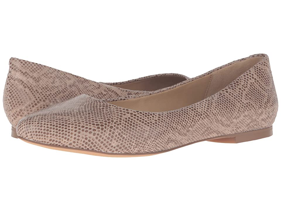 Trotters Estee (Nude Snake Embossed) Women's Slip-on Dress Shoes, Brown
