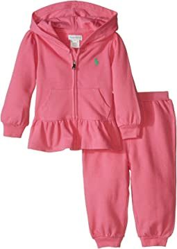 Ralph Lauren Baby - Fishcale Terry Hook-Up Fleece Set (Infant)