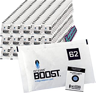 Integra Boost 67g Gram Humidity Control Pack 62% 300 Pack - Includes Free Legalize Tomatoes Sticker