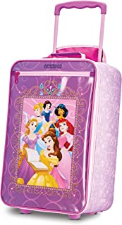 American Tourister Kids' Disney Softside Upright Luggage, Princess 2