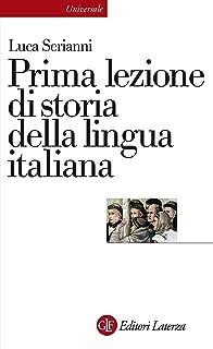 prima lezione di italiano
