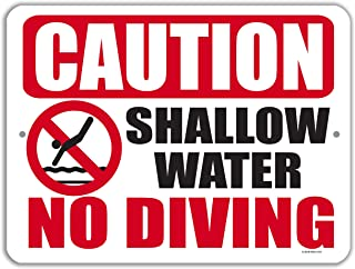 swimming in shallow water