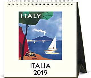 Cavallini Papers & Co. Calendar Italia Calendar Art, Multicolor