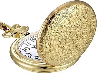 زنجیری جیبی کوارتز مودر Vintage Vintage Steel Watch