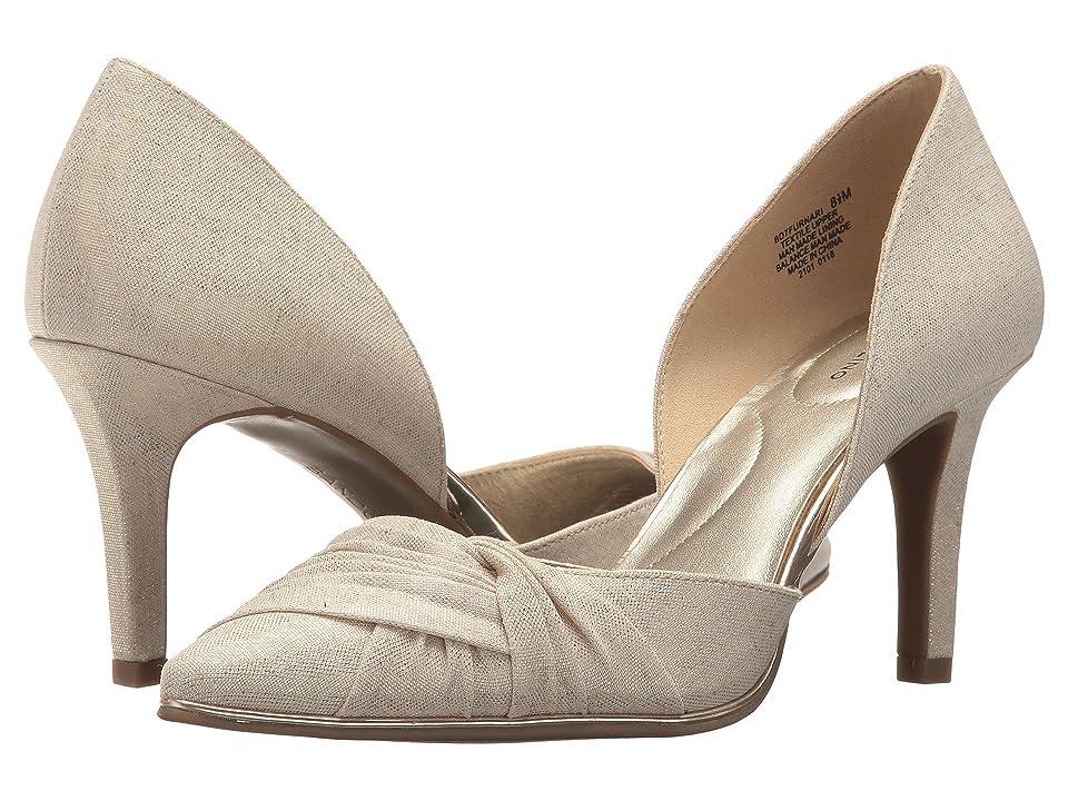 Bandolino Furnari (Gold Metallic Coated Linen) Women
