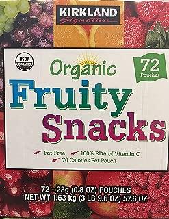 Kirkland Signature/ Organic Fruit Snacks/ 720.8 Oz