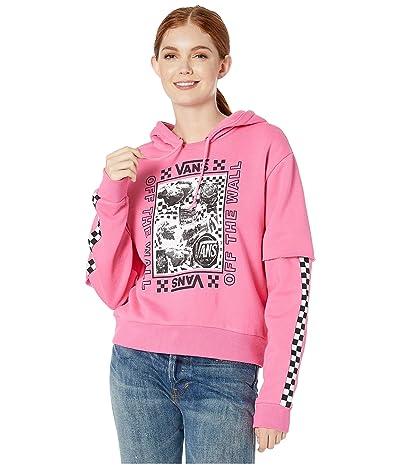 Vans Lady Vans Sting Hoodie (Azalea Pink) Women