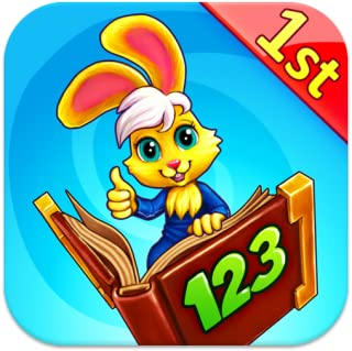 Wonder Bunny Math Race: 1st Grade Kids Advanced Learning App for Numbers, Addition and Subtraction