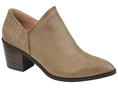 Journee Collection Adison Bootie (Taupe) Women