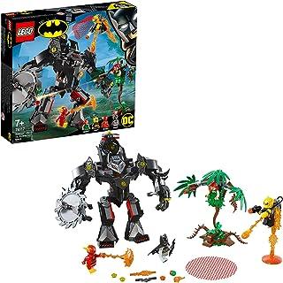 LEGO 76117 Batman Versus Poison Ivy Mech Building Kit, Colourful