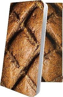 GALAXY Note Edge SC-01G ケース 手帳型 女の子 女子 女性 レディース 食べ物 パン ギャラクシーノートエッジ ユニーク おもしろ おもしろケース galaxynote sc01g たべもの フード 11075-wejg...