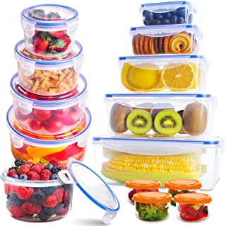 Sponsored Ad - Food Storage Containers with Lids(26 Pack), Kitchen Food Organizer Containers - Snacks, Sandwich & Bento bo...