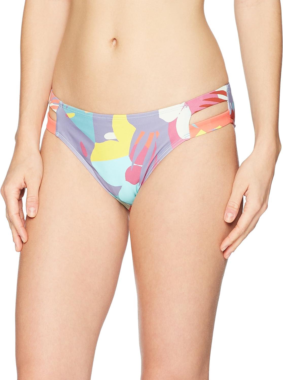 Amazon Brand - Mae Women's Swimwear Marley Double Strap Hipster Bikini Bottom