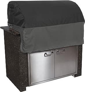 Classic Accessories Veranda FadeSafe Built-In Grill Cover, Black, Small