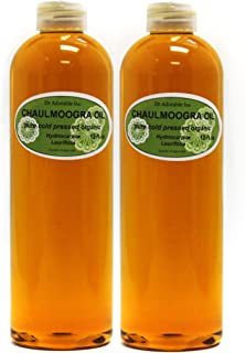 24 OZ CHAULMOOGRA Oil by DR.Adorable 100% Pure Organic Cold Pressed