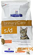 Hill'S Diet S/D Feline Urinary Care Cat Food 4 Lb Bag