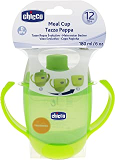 Chicco Cup with Straw Green Apple 12 Months and Up, 6824500000
