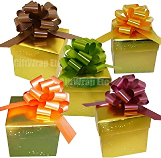 Fall Colors Decorative Gift Pull Bows - 5