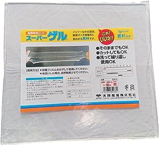 アクティカ スーパーゲル 衝撃吸収シート 300X3mm 90008