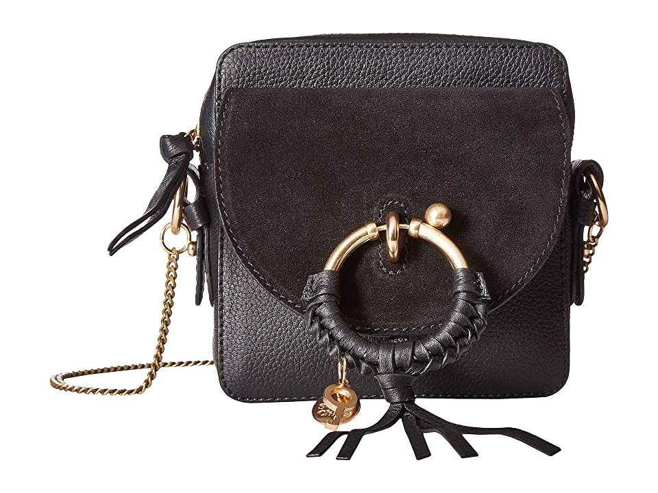 ca8267244f See by Chloe Joan Mini Camera Bag (Black) Shoulder Handbags