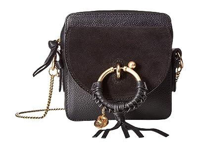 See by Chloe Joan Mini Camera Bag (Black) Shoulder Handbags