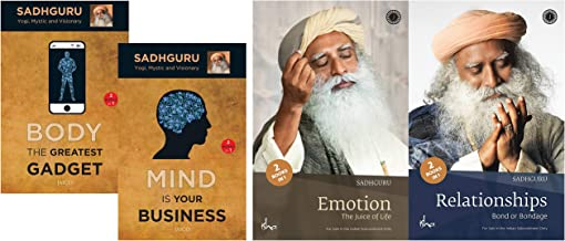 Mind is your Business/Body the Greatest Gadget (2 Books in 1) + Emotion and Relationships (Set of 2 books)