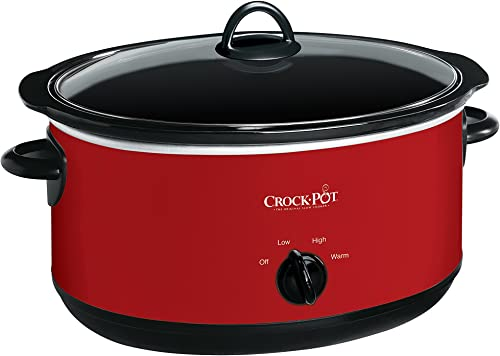 wholesale Crock-pot Express Crock popular Slow Cooker, 8 quart, high quality Red outlet online sale