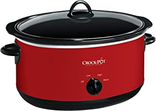 Crock-pot SCV800-R Express Crock Slow Cooker, 8 quart, Red