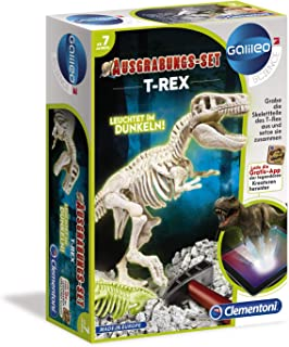 Clementoni - Excavación Set T-Rex Fluorescente (69404.4)