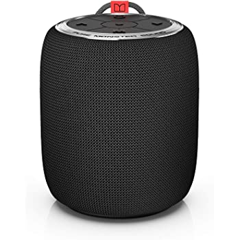 Monster Bluetooth Speaker, Superstar S110 Portable Bluetooth Speakers 5.0 with True Wireless Stereo Pairing for Louder Stereo Sound, Built-in Mic, Waterprrof Speakers for Home Indoor or Outdoor Use