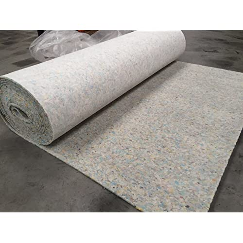 Luxury 8mm Thick PU Carpet Underlay Rolls | 11m Long / 1.37m Wide for 15m²